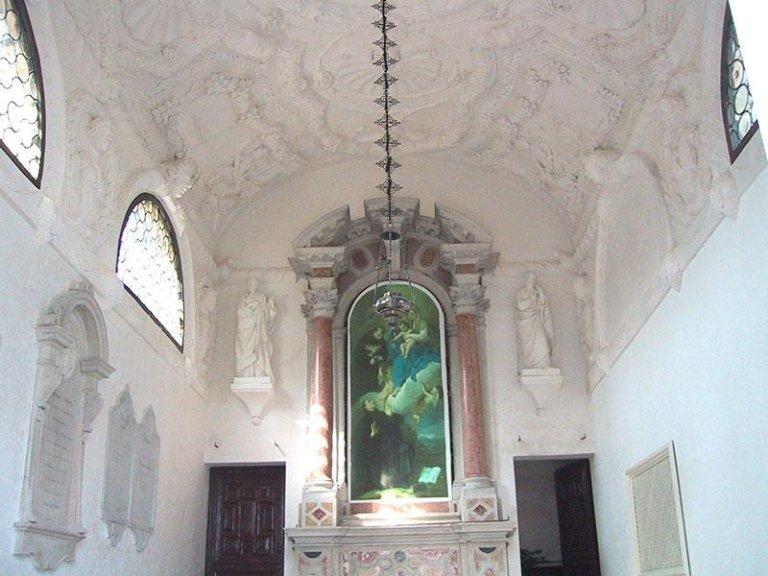 Oratorio di Villa Guidini dopo il restauro