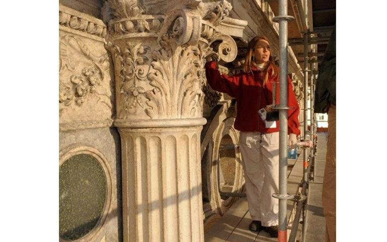 Dal Pozzo Isabella direttore tecnico del restauro del Casinò di Venezia