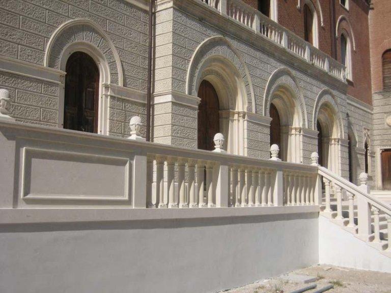 Restauro della scalinata monumentale