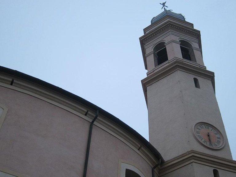 Campanile della Chiesa di S. Siro dopo il restauro
