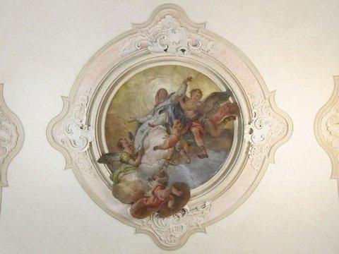 Soffitto chiesa di Scorzè