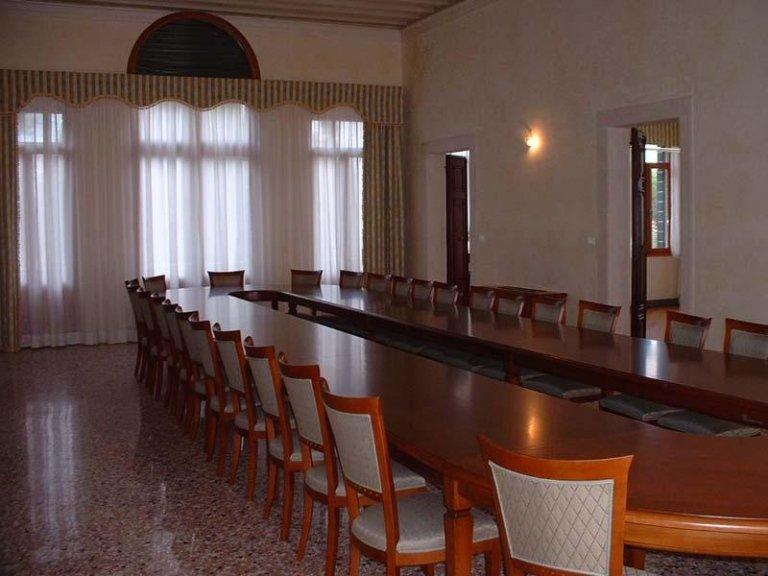 Terrazzo alla veneziana in Villa Grimani Zini