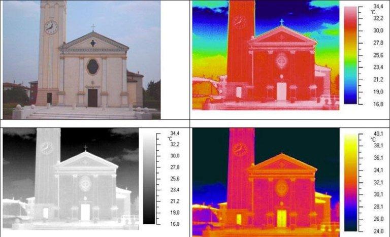 termografia Chiesa di Gardigiano