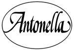Logo Antonella scritto in nero