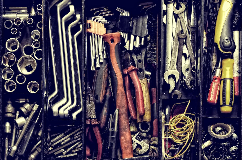 strumenti di officina
