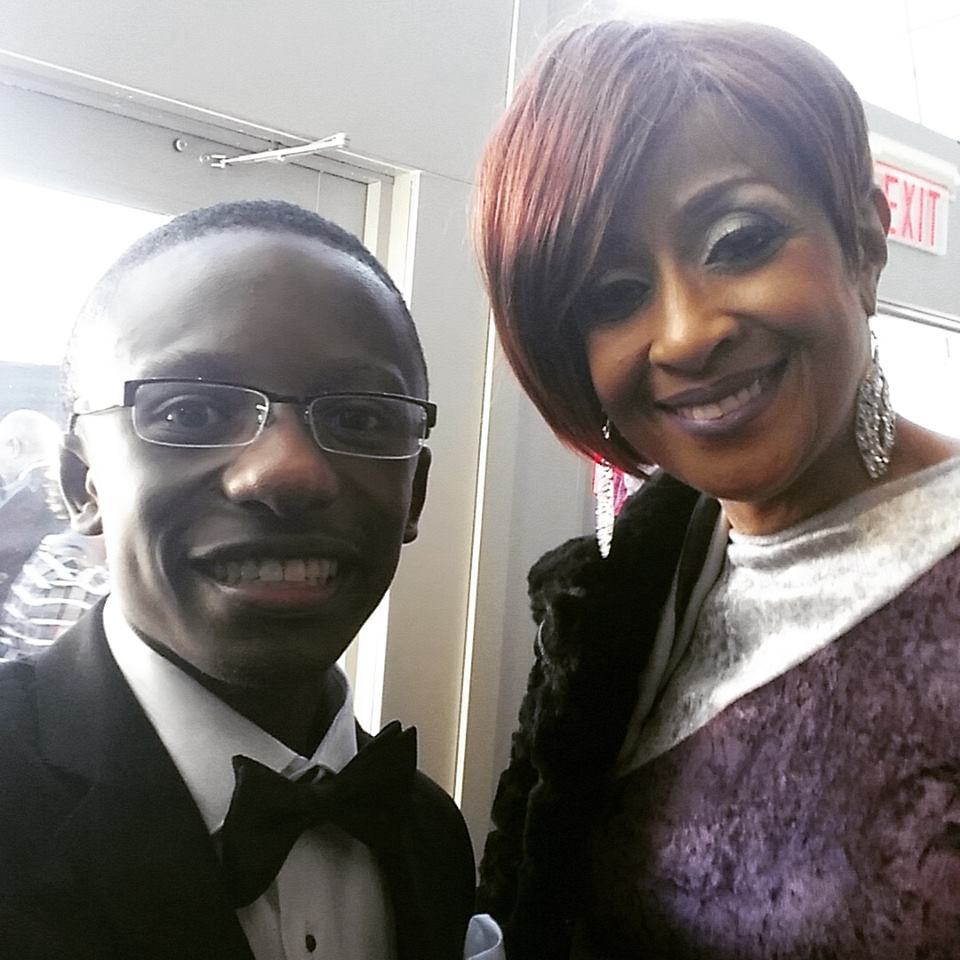 Rev. Jared Sawyer Jr. and Dorinda Clark Cole