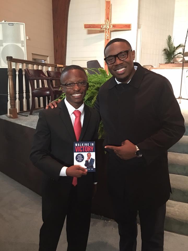 vRev. Jared Sawyer Jr. and Pastor Reginald Sharpe Jr.