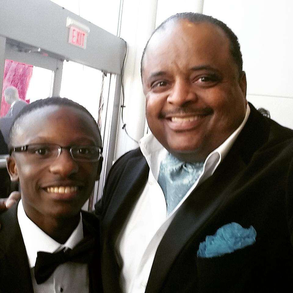 Rev. Jared Sawyer and Roland Martin