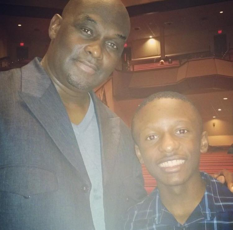 Rev. Jared Sawyer Jr. and Tommy Ford