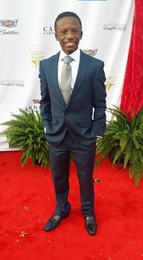 Rev. Jared Sawyer Jr. on the Red Carpet at the Trumpet Awards