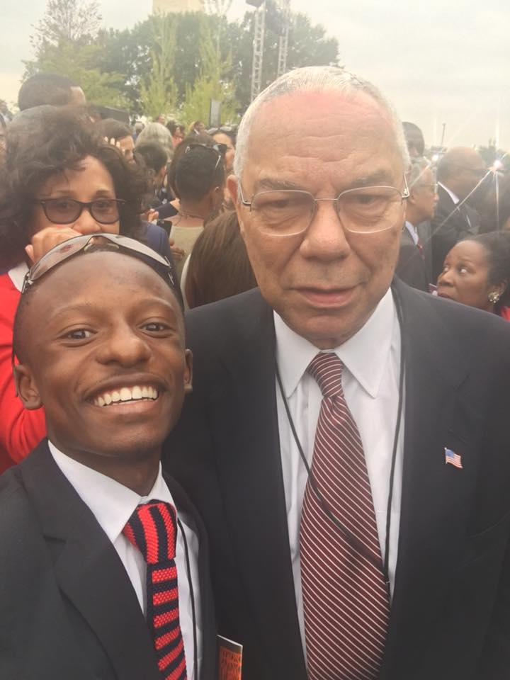Rev. Jared Sawyer Jr. and General Collin Powell