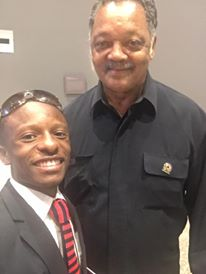 Rev .Jared Sawyer Jr. and Rev. Jesse Jackson