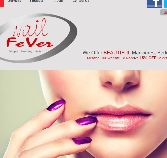 Beauty Salon Web Design Services
