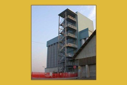 costruzione scale ferro
