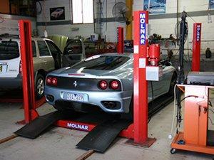 newcastle motor repairs ferrari in service
