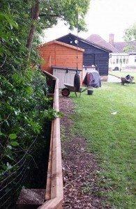 fence top edge