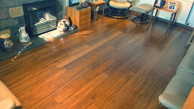 Solid Bamboo Floor