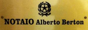 STUDIO NOTARILE BERTON - Logo