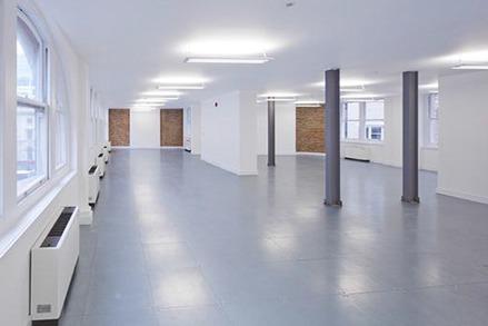 empty office area