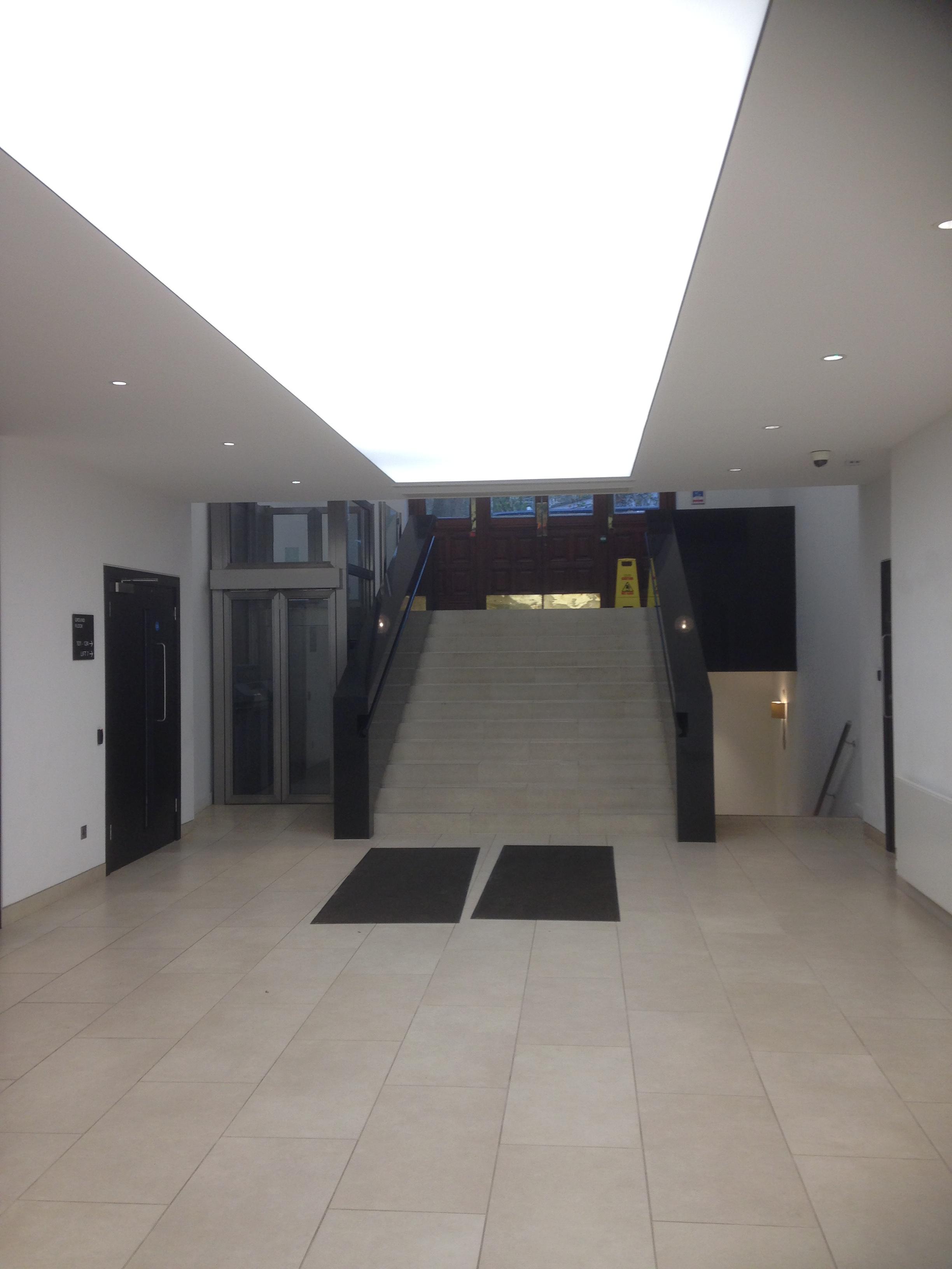 office walkway