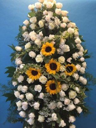 corona di girasoli genova