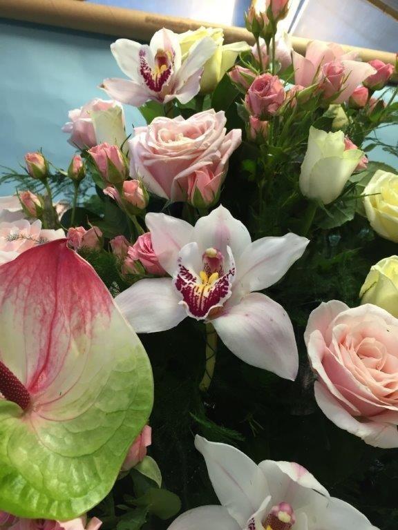 decorazioni floreali funebri