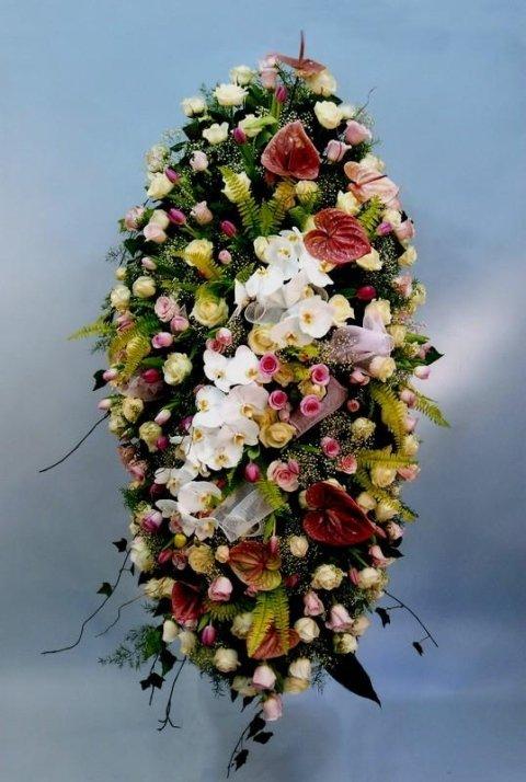 giardino nettuno, corone fiori genova