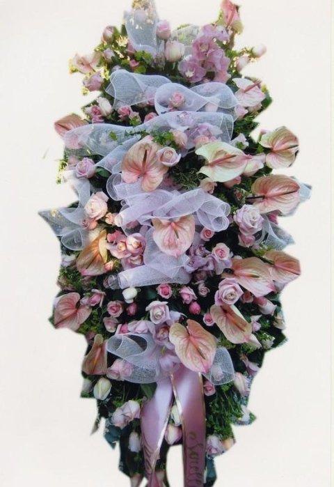 fiori per cerimonia funebre genova