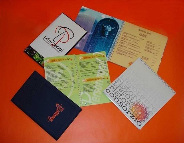menu personalizzati