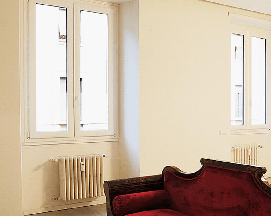 trial finestre in alluminio legno