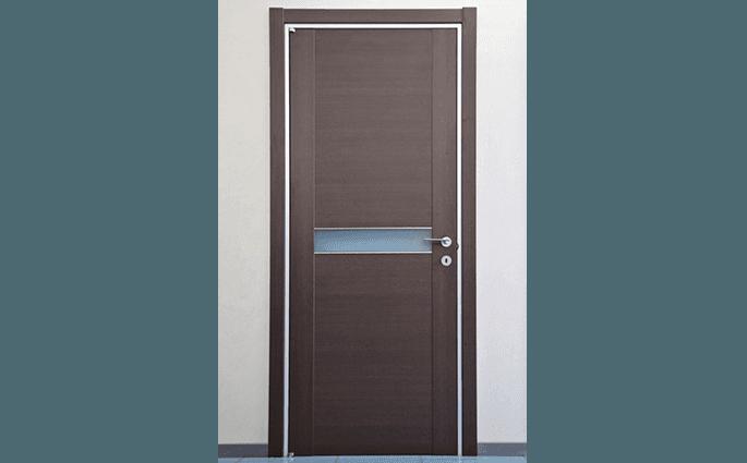 porta interno legno e vetro