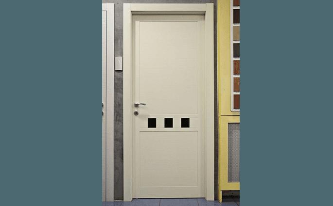 porta interna laccata bianca