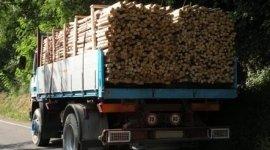 Trasporto legna da ardere, Trasporto legname, Consegna a domicilio