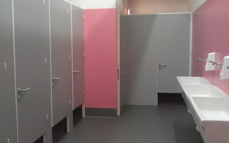 porte per docce e spogliatoi