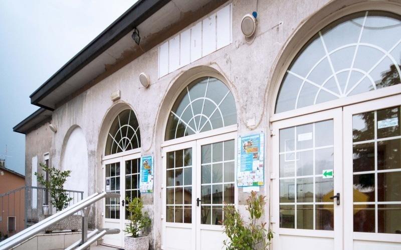 porte finestra Oratorio di Maserada