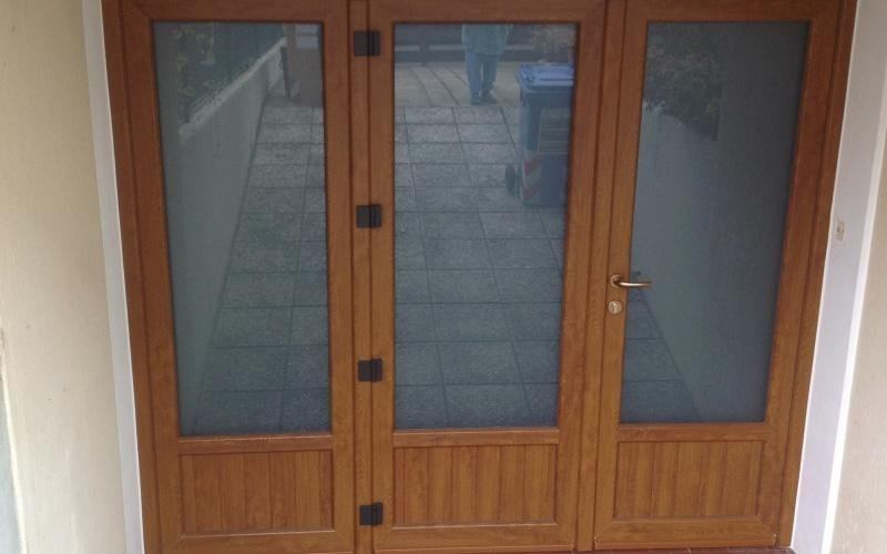 porte residenziali in PVC