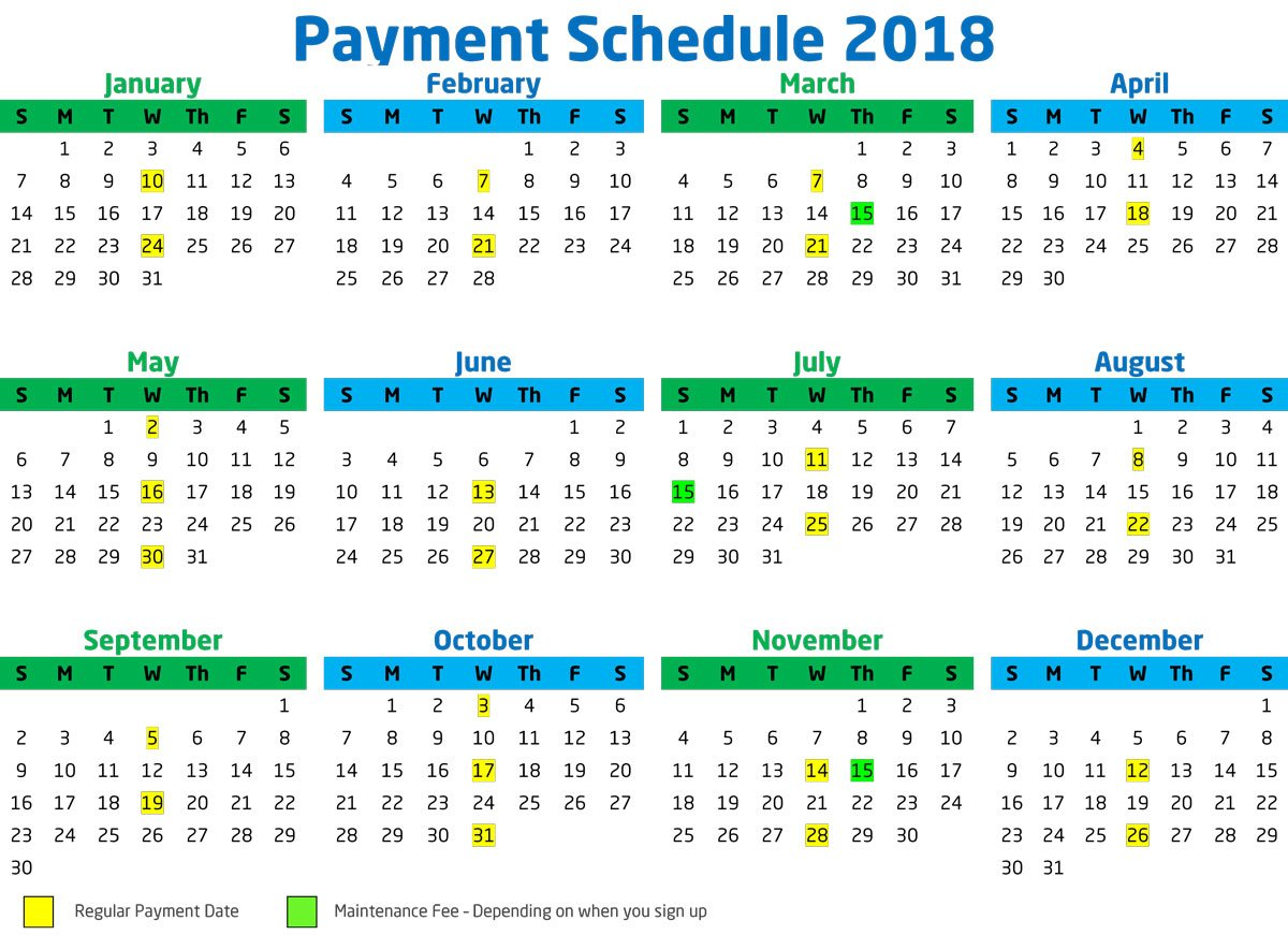 schedule payment