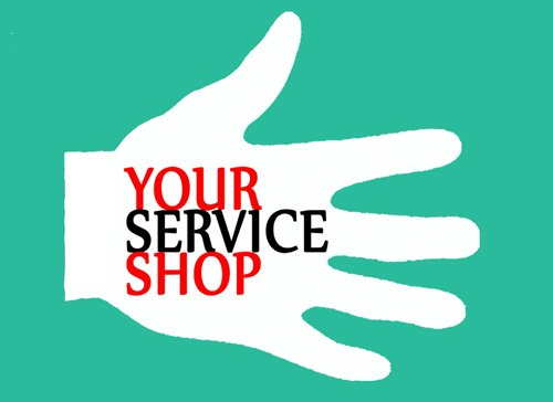 your service shop logo