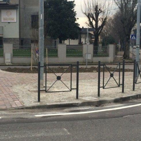 incrocio con barriere
