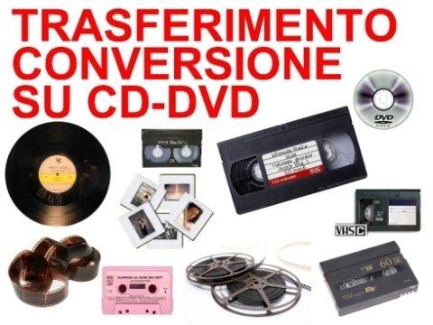 Trasferimento su DVD