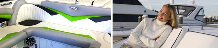 marine seating upholstery