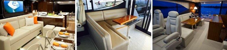 bayline marine covers interior seating