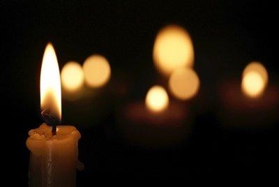 candele buio
