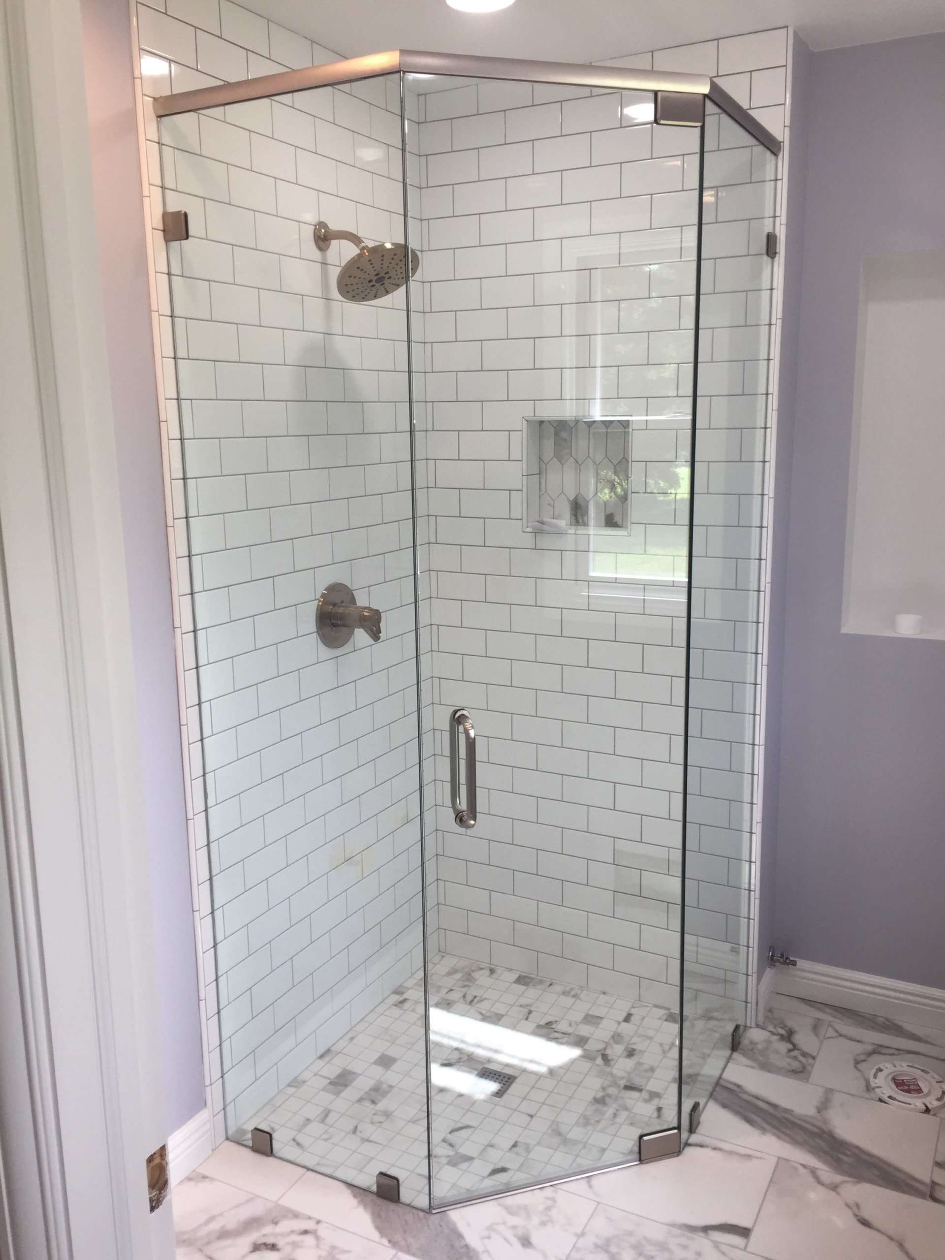 Shower Enclosures With Fenton Glass