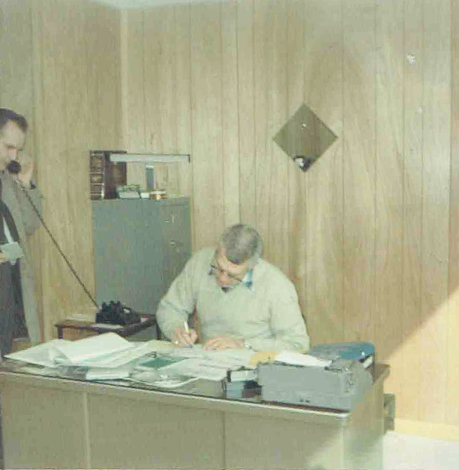 Fenton Glass Office Staff  May 1968