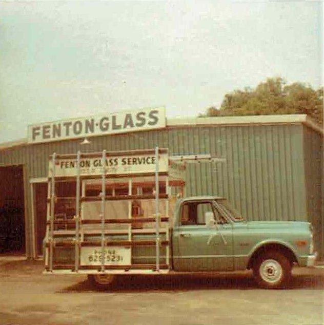 Fenton Glass Truck 1968