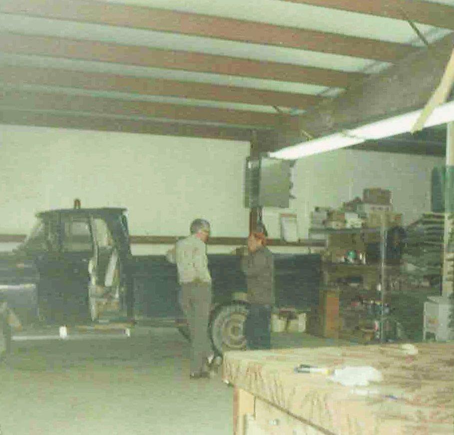Fenton Glass Inside Work Station 1968