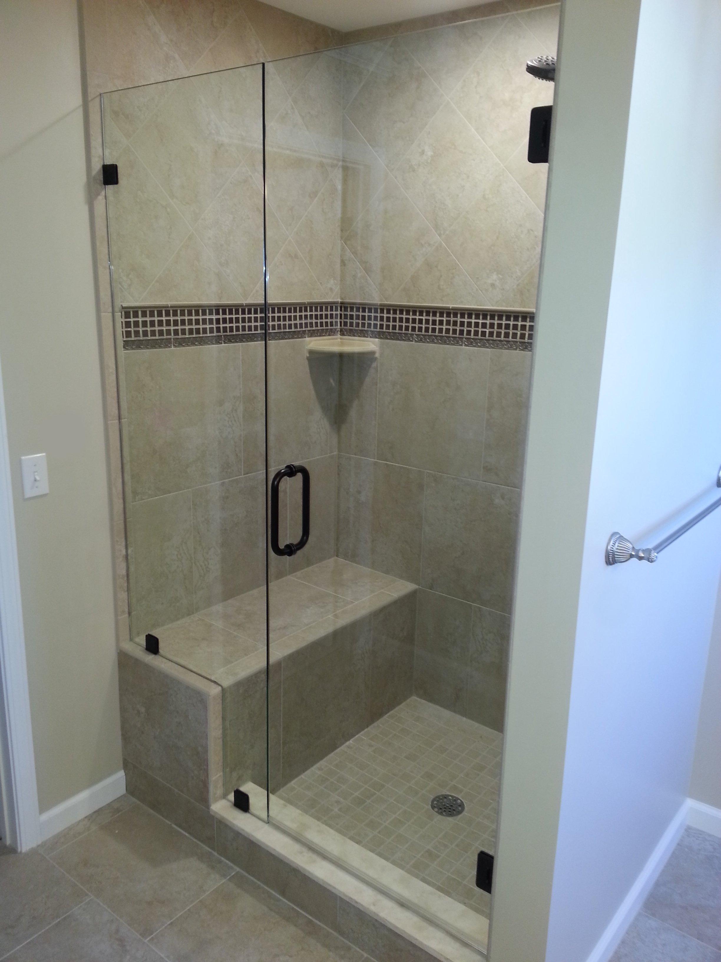 Frameless Glass Shower Door Grand Blanc, Michigan