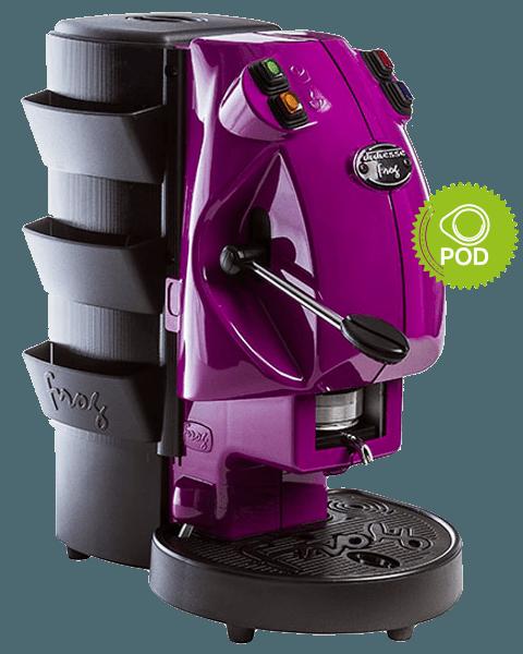 macchina del caffé moderna e colorata