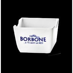 un porta bustine  bianco della marca Caffe' Borbone